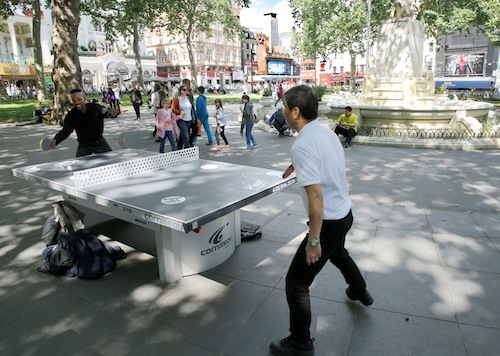 ping! london, ping pong, table tennis, leicester square