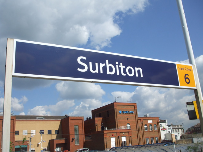 surbiton, London, station, hotel