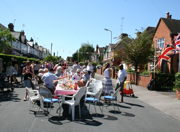 the big lunch, oakley road, ruth martin