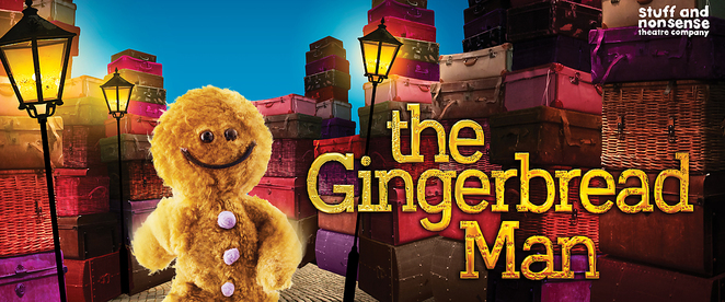 the gingerbread man play, childrens theatre, school holidays, salisbury playhouse, childrens theatre, family theatre, fun for kids