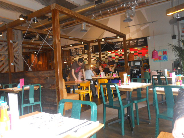wahaca, wimbledon, mexican market eating