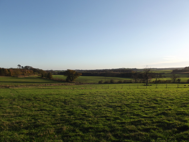 A view of the Lincolnshire Wolds