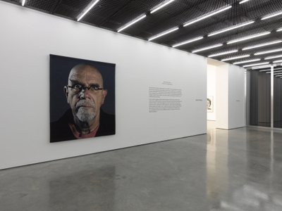 Chuck Close, Process and Collaboration, white cube