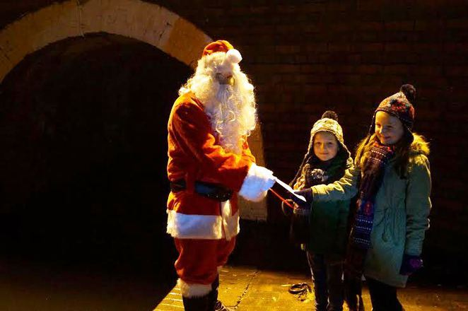 Dudley Canal Trust, Father Christmas, Santa Claus, Christmas Carols, Choir