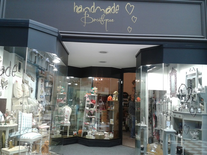 Handmade boutique, gifts, gift shop, bespoke
