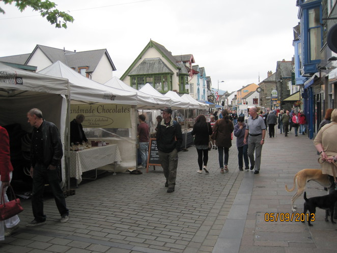 Marketplace in Keswick