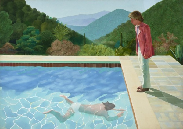 Portrait of an Artist, David Hockney