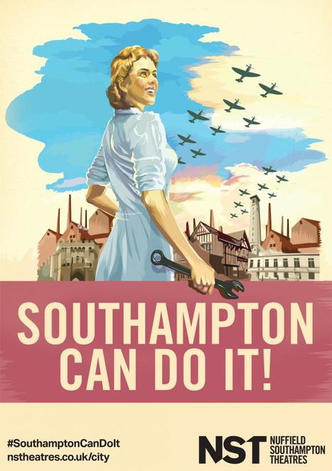 southampton, spitfires, the shadow factory, nuffield southampton theatre, theatres in southampton