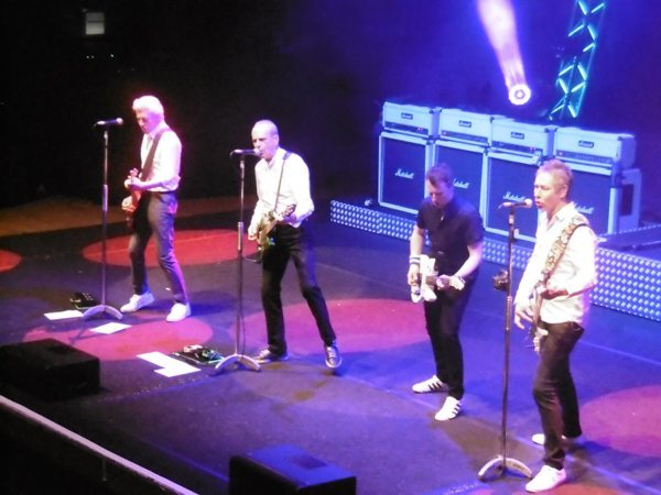 Status Quo, Francis Rossi, Richie Malone, Andy Bown, Leon Cave, Rhino Edwards, Civic Hall Wolverhampton, SEC Armadillo Glasgow, Review, Plugged In Live & Rockin'