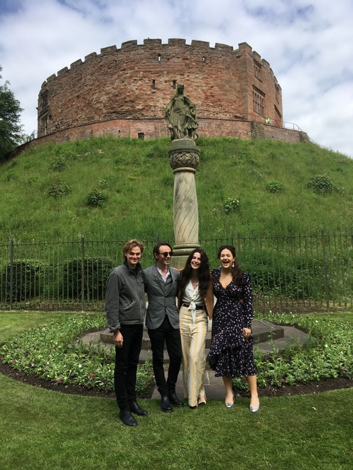 Tamworth Castle Grounds, David Dawson, Millie Brady, Elizabeth Butterworth, Timothy Innes