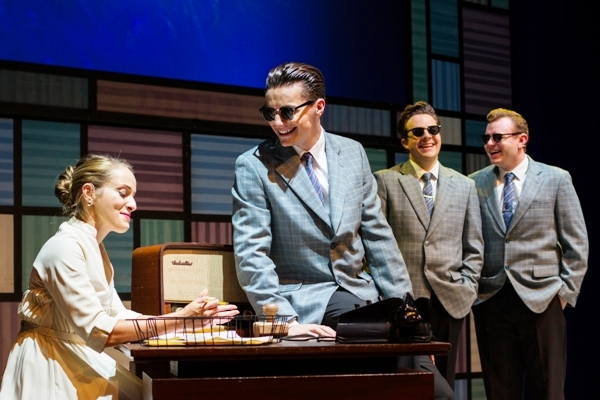 Buddy - The Buddy Holly Story, The Alexandra Birmingham, Theatre Review, Musical, AJ Jenks, Christopher Weeks, Ben Pryer, Joshua Barton