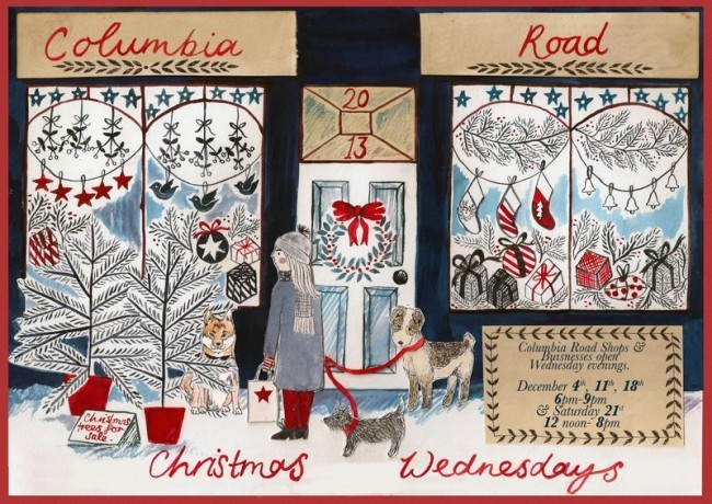 Columbia Road Christmas