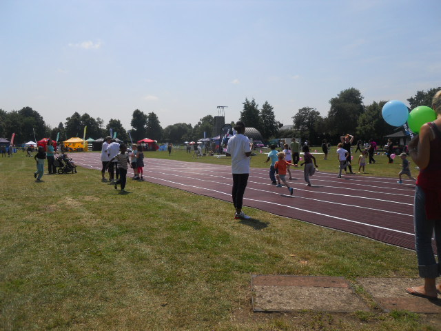 king george's park, get active wandsworth festival, running, athletics