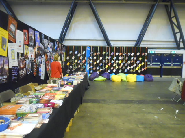 london film and comic convention, books