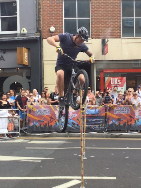 prudential, RideLondon, wimbledon, extreme wheels roadshows, joe oakley