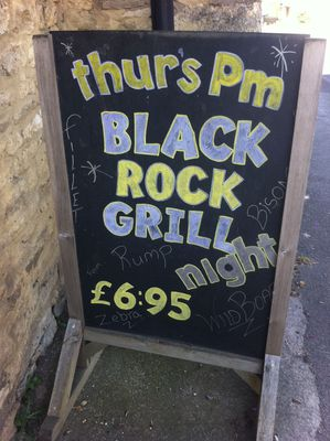 Red Lion Black Rock Grill