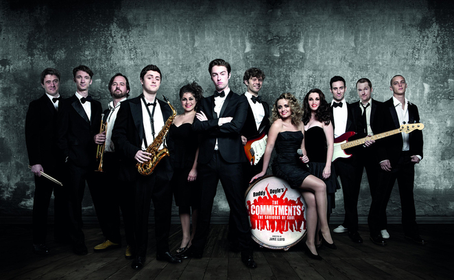 the commitments, palace theatre