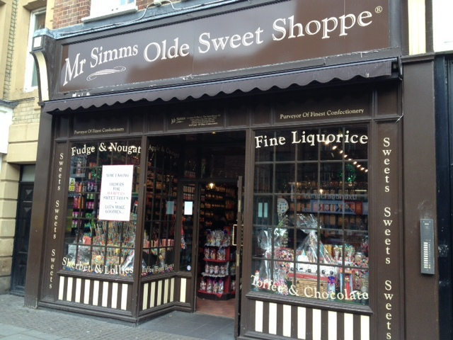 traditional, sweet shop, uxbridge, online orders