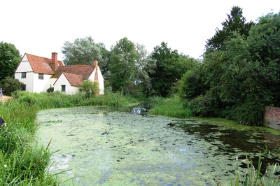 Willy Lotts house, flatford, suffolk, flatford mill, dedham vale