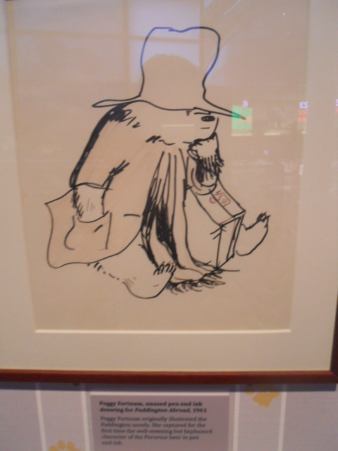 a bear called paddington, museum of london, peggy fornum