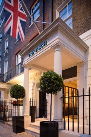arch london hotel, valentines, romantic hotels