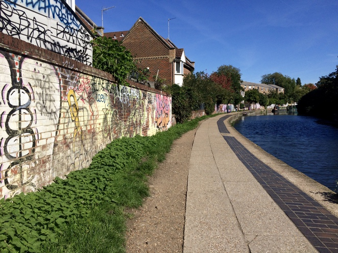Canal, Graffiti, Art, Walk, River