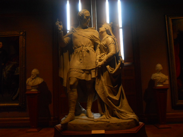 national Portrait Gallery, sculpture, prince albert, queen victoria