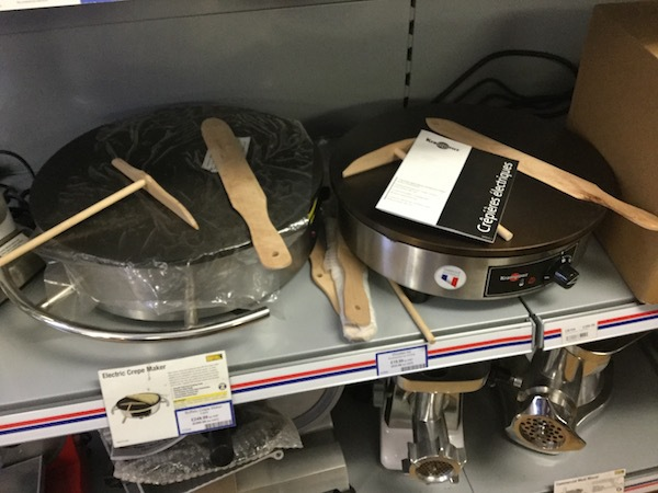 nisbets, catering supplies, soup maker, crepe maker