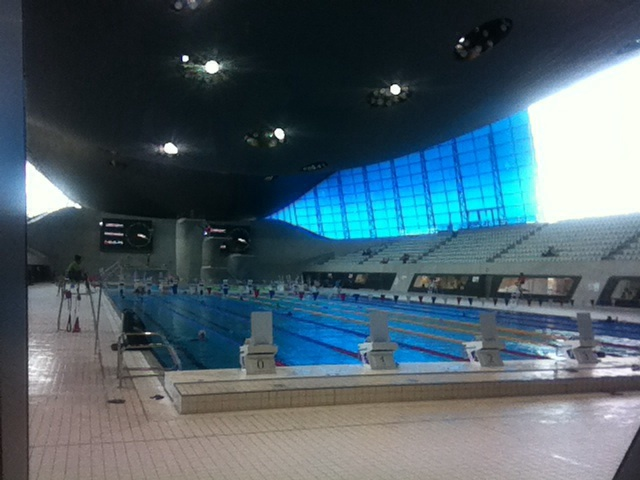 London Aquatics Centre Queen Elizabeth Olympic Park London