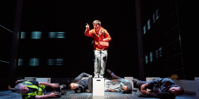The curious incident of the dog in the night-time, Birmingham hippodrome