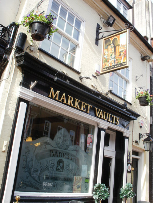 The Market Vaults, pub, Tamworth, Joule's brewery
