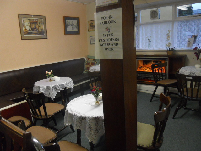 ulverston, chairty shop, age concern, tearoom