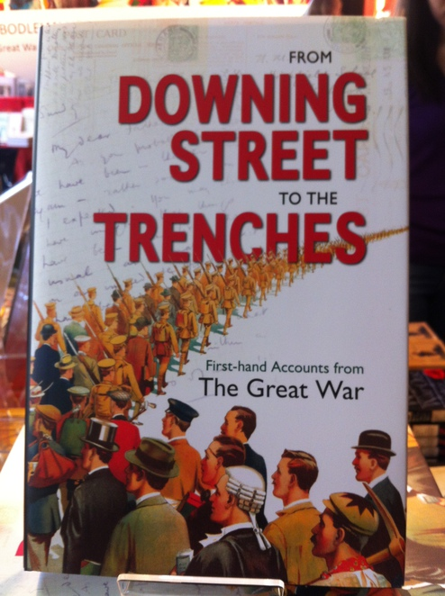 downing, street, trenches, great, war, exhibition, bodleian, oxford