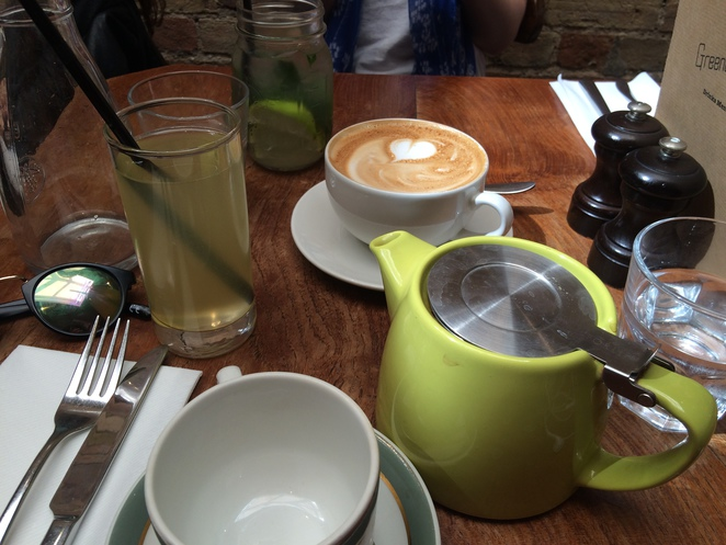 Greenberry, Primrose Hill, London, cafe, lunch, brunch