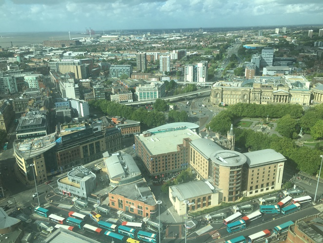 liverpool, united kingdom, st johns beacon, radio city tower, radio 96.7, observation deck, tourist, lookout, city, viewing gallery, beautiful, view, tourist, free wifi