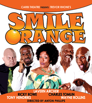 smile orange, theatre, ricky rowe