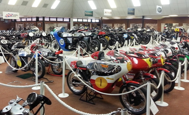 The National Motorcycle Museum is in Solihull near Birmingham