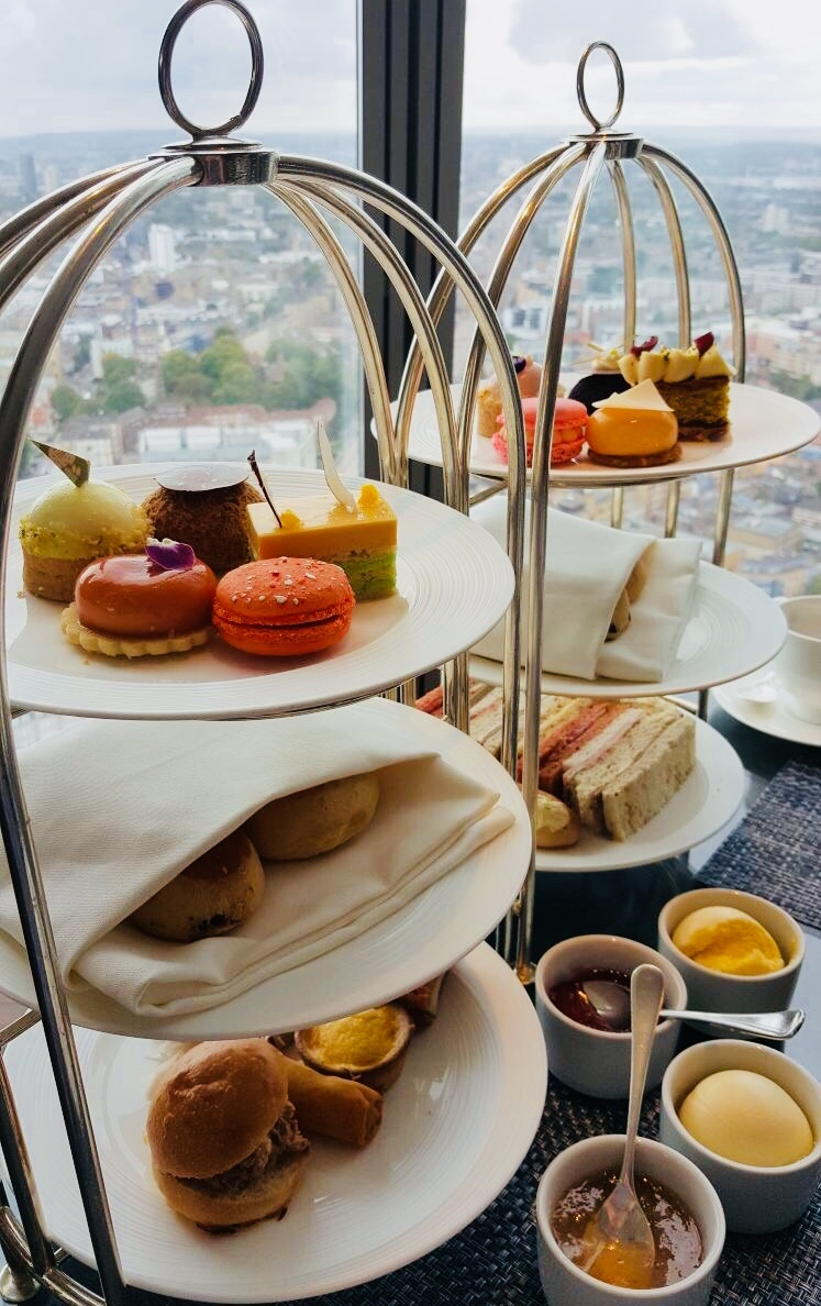Luxury Afternoon Tea T 206 Ng At Shangri La Hotel The Shard