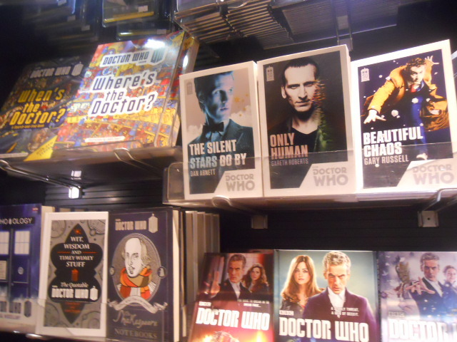 watermark books, king's cross, doctor who