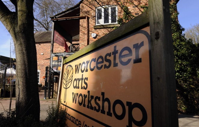 Worcestershire open studios, worcester arts workshop , August bank holiday