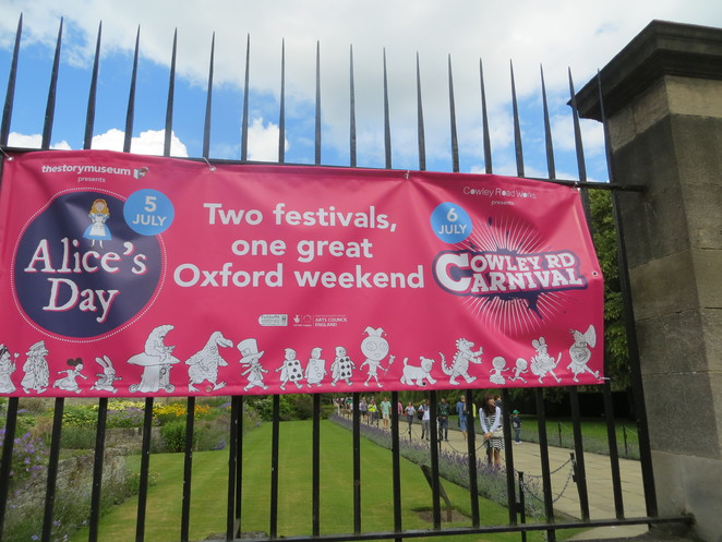 alice, day, oxford, banner, wonderland