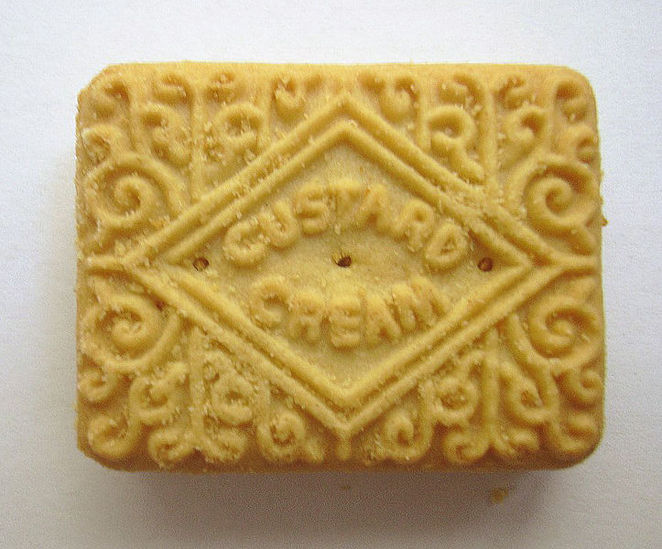 custard cream, biscuit