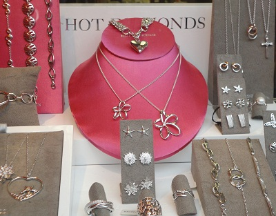 Hot Diamonds Window Display