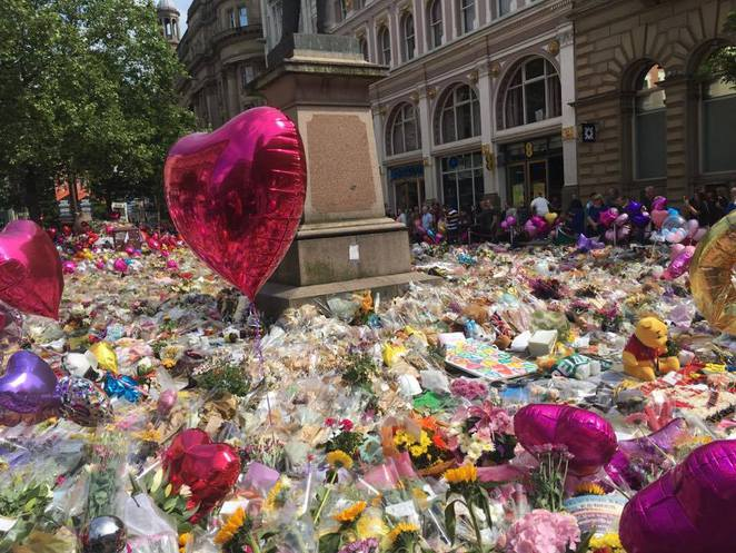 Manchester, Manchester attack, St Ann;s Square, Manchester Day