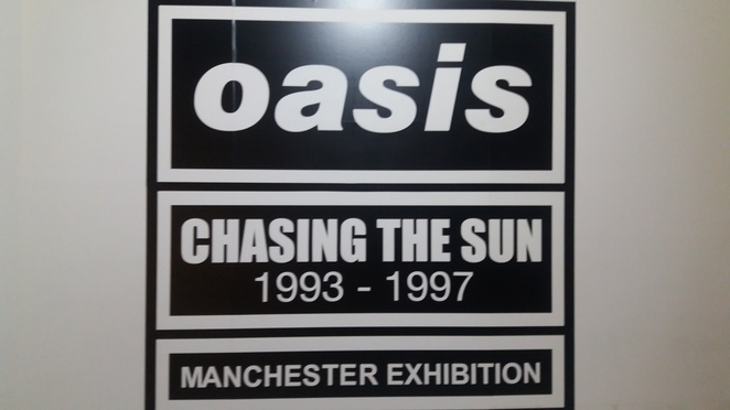 Oasis Chasing the Sun Exhibition, Manchester