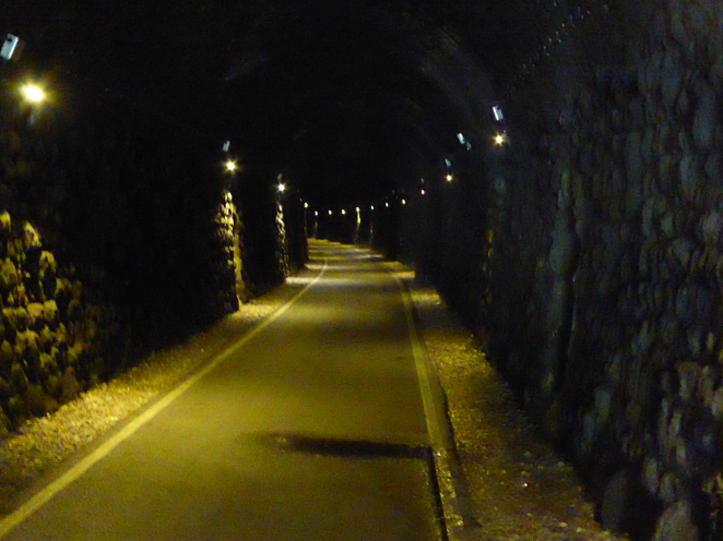 The 800 m Combe Down tunnel