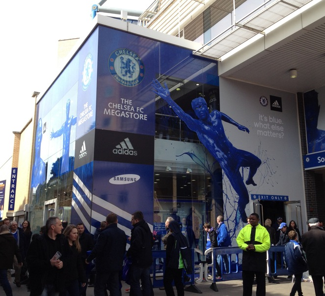 The Megastore at Chelsea Football Club