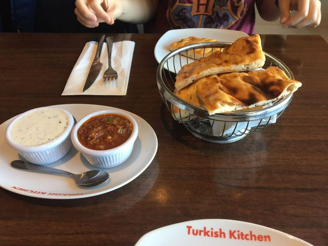 turkish bread, turkish food, turkey, turkish kitchen, chicken, salsa, tartar, hatfield, hertfordshire