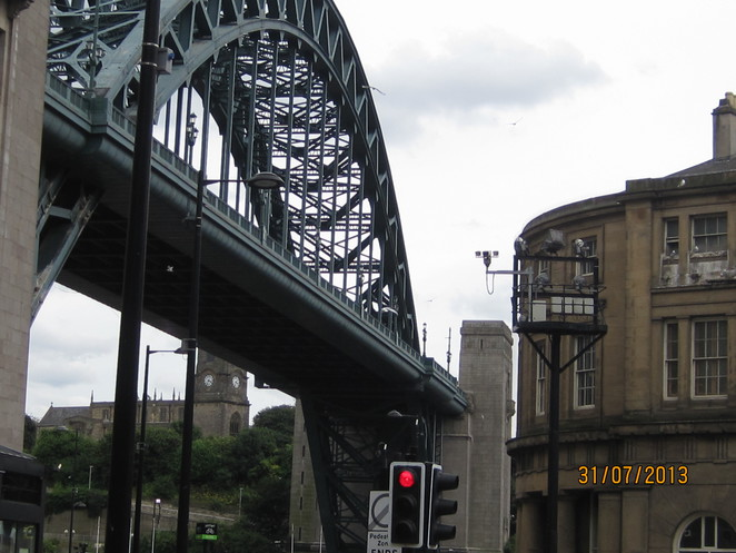 Tyne Bridge from below