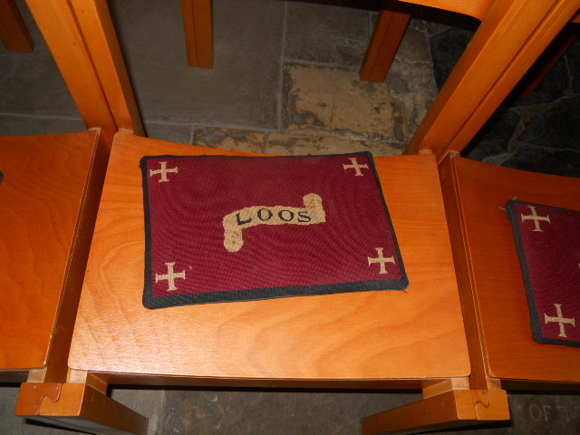 all saints church, kingston, cushions, loos